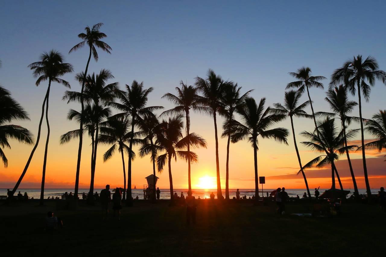 ノンスタ井上裕介、ハワイで嵐に遭遇!?「日本のスーパースターをハワイで発見」