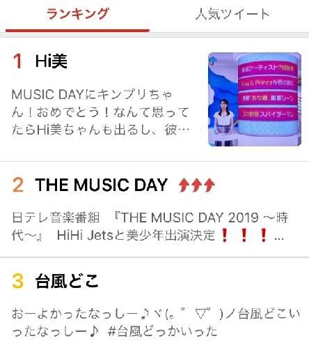 HiHi Jets&美 少年の「THE MUSIC DAY」出演決定にファンら驚き…「Hi美」がトレンド1位に