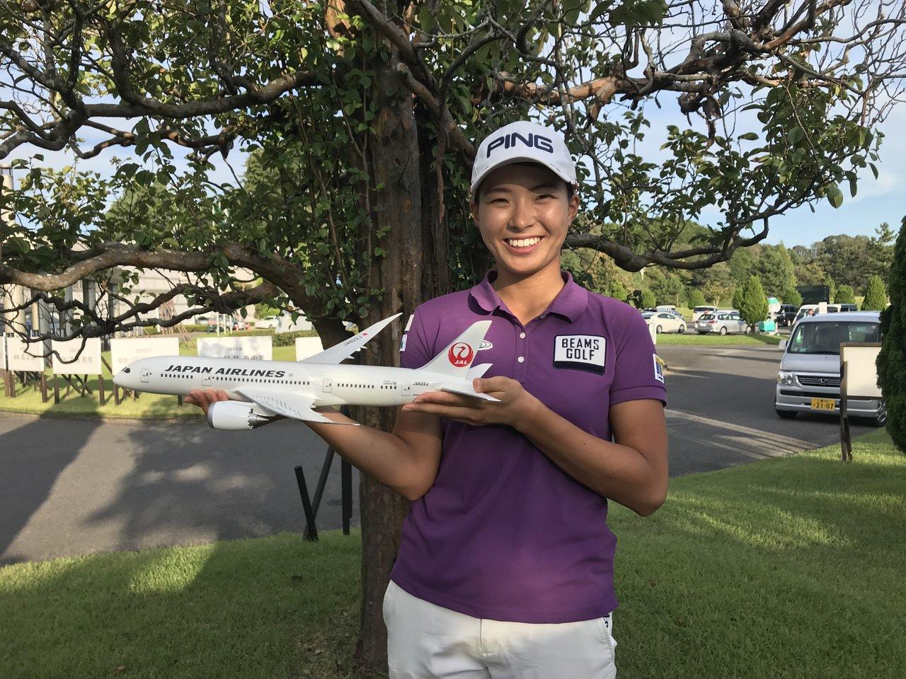 JALが女子プロゴルフ・渋野日向子選手とサポート契約を締結