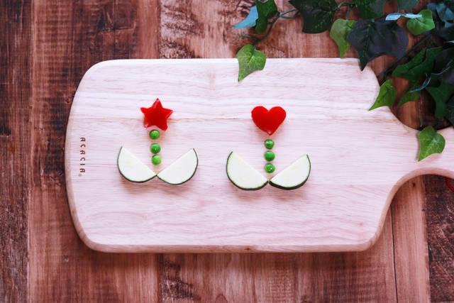 野菜で作ったお花のフリー写真画像|GIRLY DROP (3082)