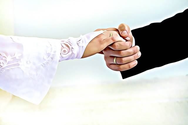 無償のイラストレーション: 花嫁, 新郎, デジタル, グラフィックス, 手, グローブ, 結婚式 - Pixabayの無料画像 - 2098084 (3586)
