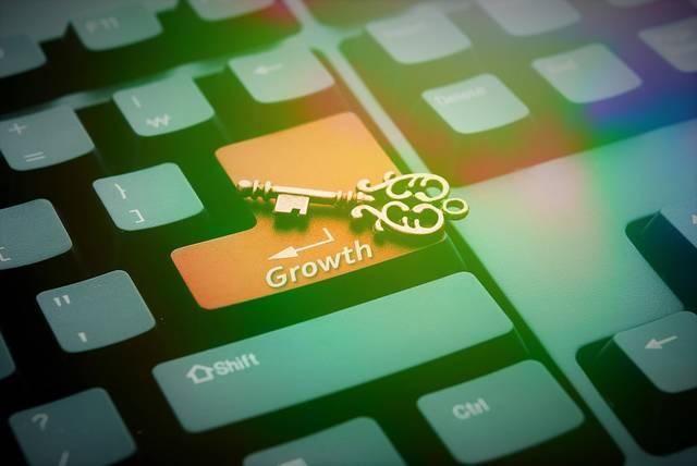無償のイラストレーション: キー, キーボード, 成長, ボタン, 金融, 経済, ビジネス - Pixabayの無料画像 - 951784 (7000)