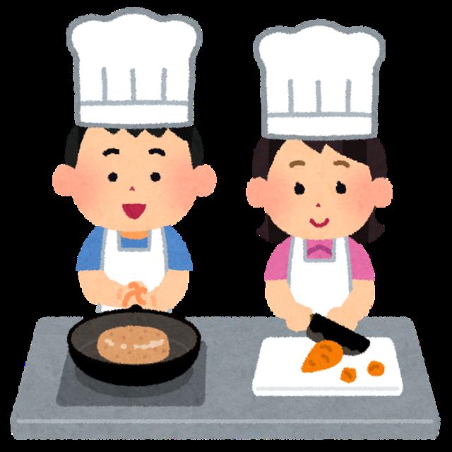 子供料理教室のイラスト | かわいいフリー素材集 いらすとや (7255)