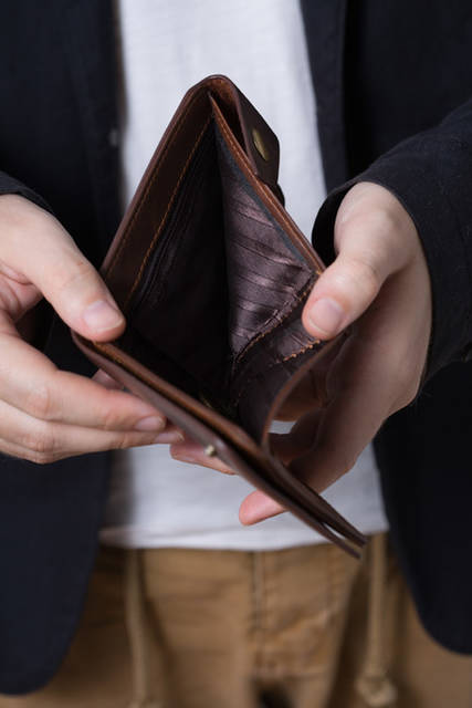 [フリー写真] すっからかんの財布でアハ体験 -  GAHAG | 著作権フリー写真・イラスト素材集 (8024)