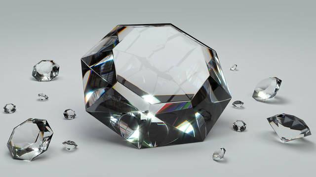 [フリーイラスト] ダイヤモンドの背景でアハ体験 -  GAHAG | 著作権フリー写真・イラスト素材集 (8387)