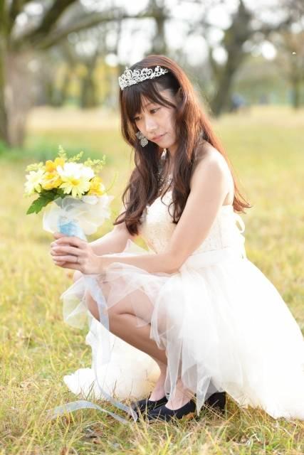ウエディングドレスを着た女性 11|写真素材なら「写真AC」無料(フリー)ダウンロードOK (9206)
