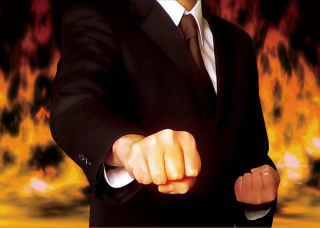 ビジネスマン 炎|写真素材なら「写真AC」無料(フリー)ダウンロードOK (11897)