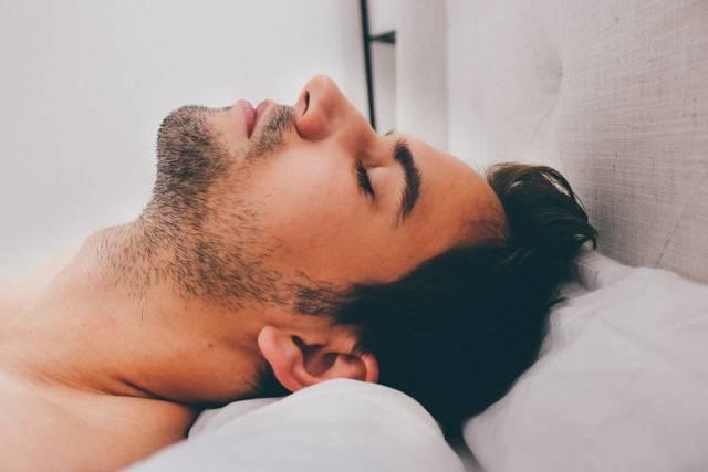 [フリー写真] 寝ている外国人男性の寝顔でアハ体験 -  GAHAG | 著作権フリー写真・イラスト素材集 (16527)