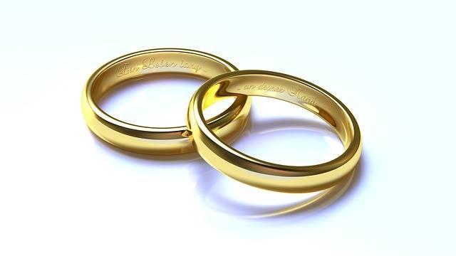 Free illustration: Wedding, Rings, Gold, 3D, Blender - Free Image on Pixabay - 1246897 (2410)