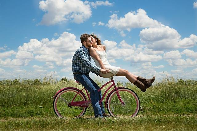 Free photo: Engagement, Couple, Romance, Bike - Free Image on Pixabay - 1718244 (2462)