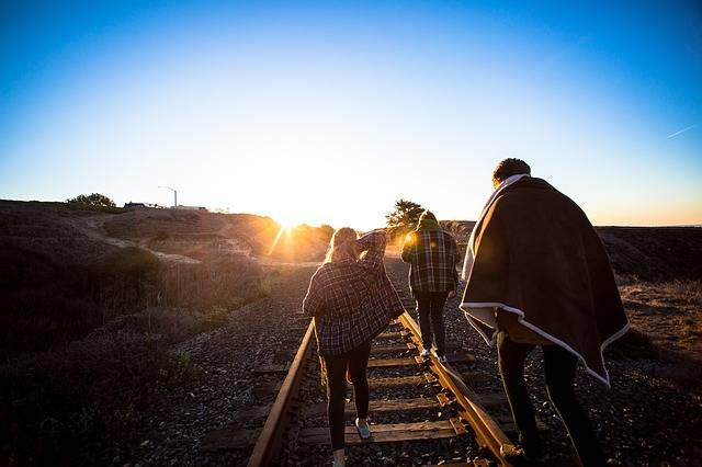 Free photo: People, Walking, Tracks, Rails - Free Image on Pixabay - 1030750 (5165)