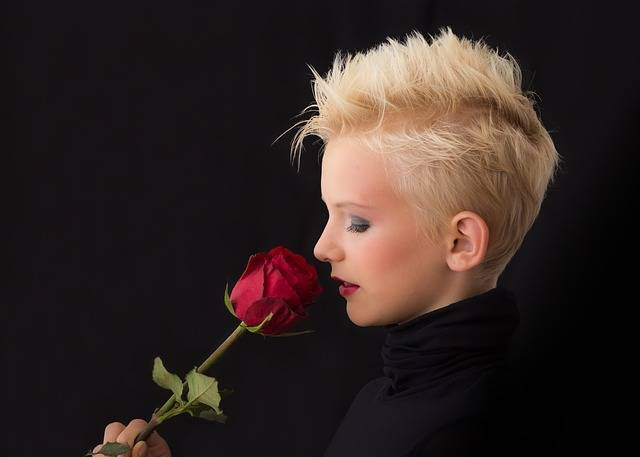 Free photo: Profile, Girl, Rose, Young Girl - Free Image on Pixabay - 449912 (6198)