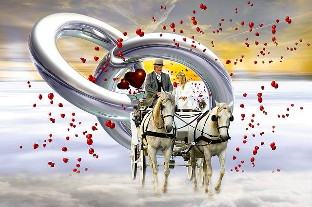 Free illustration: Wedding, Coach, Love, Heart, Marry - Free Image on Pixabay - 865858 (10709)