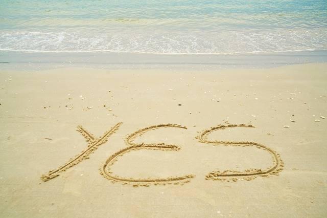 Free photo: Yes, Summer, Write, Sand, Holiday - Free Image on Pixabay - 2076813 (13889)
