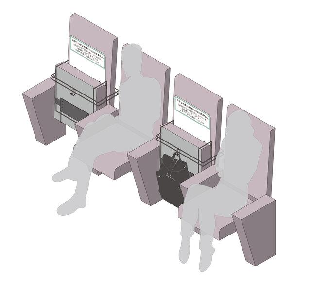 座席用ソーシャルディスタンス対策ツール専用型BM-1 ...