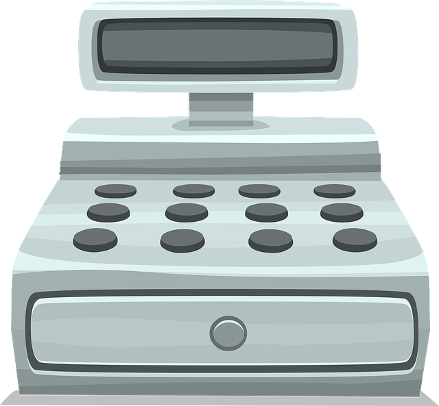 Free vector graphic: Cash Register, Register, Retail - Free Image on Pixabay - 576160 (512)