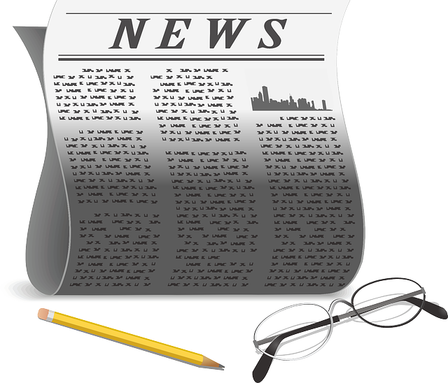 Free vector graphic: Newspaper, Paper, Pencil, Glasses - Free Image on Pixabay - 159877 (1345)