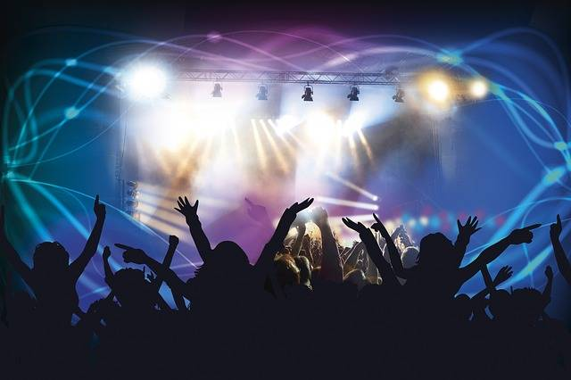 Free illustration: Live Concert, Dance Club, Disco - Free Image on Pixabay - 388160 (1560)