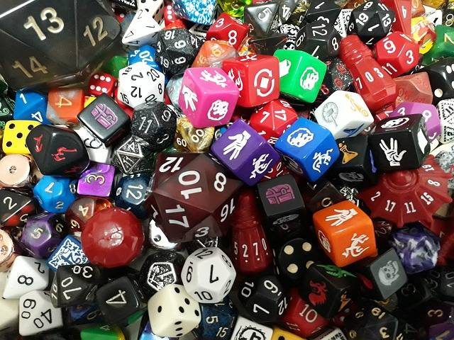 Free photo: Dice, D20, Game, Role, D12, D8, Rpg - Free Image on Pixabay - 2351448 (1953)