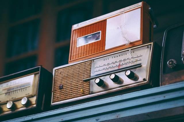 年期もののラジオ