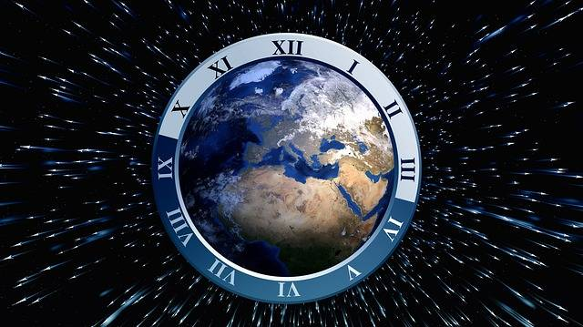 Clock Globe Earth - Free image on Pixabay (4591)