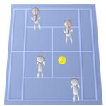 テニスのダブルスでおすすめなフォーメーションと戦術とは!?
