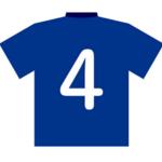 サッカーの4番の背番号が持つ意味とは?どんな選手がつけるの?