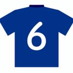 サッカーの6番の背番号が持つ意味とは?どんな選手がつけるの?
