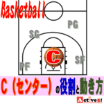 バスケのセンターの役割と動き方とは?どのようなプレイが必要かを解説