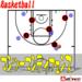 バスケのマンツーマンディフェンスとは?正しいやり方と練習方法