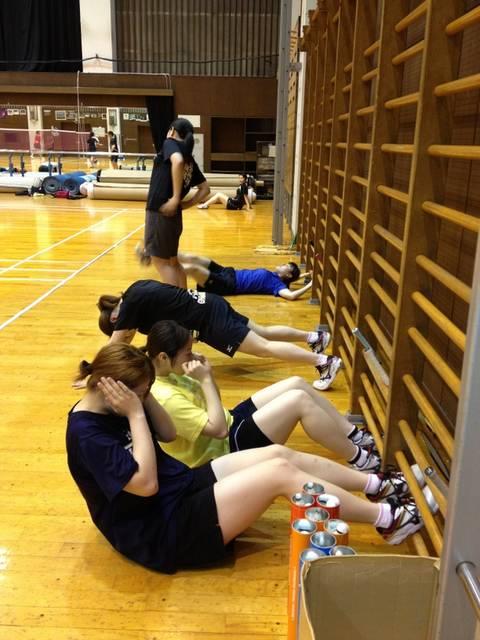 バドミントン部です!   東女体大ヘッドライン   東京女子体育大学・東京女子体育短期大学 (3734)