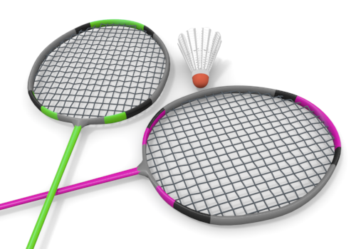 Badminton Cliparts - Clip Art Library (6417)