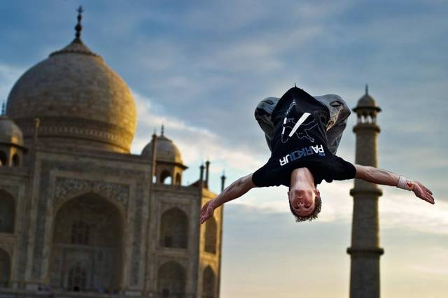Ryan Doyle goes on Parkour tour India, Jordan and China with Red Bull (10094)