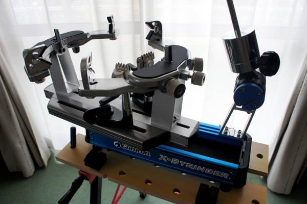 祝?ストリングマシン(GAMMA X-6FC)購入〜初張りまで!(^〜^; - 「原点」と「頂点」 (11234)
