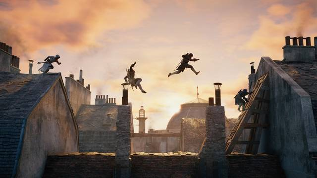 Assassins Creed, Video Games, Rooftops, Parkour, Sequence Photography Wallpapers HD / Desktop and Mobile Backgrounds (17385)