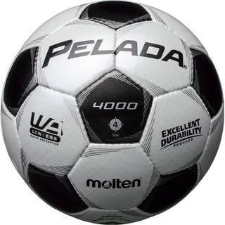 モルテンのサッカーボールペレーダ4000 4号 白×黒