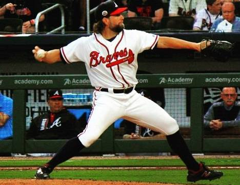 "Mike Wilhelm on Instagram: ""#knuckleballer RA Dickey. #braves #atlanta #suntrustpark"" (61915)"