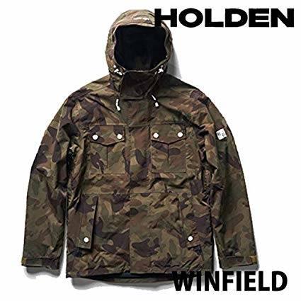 Amazon | 18-19 HOLDEN/ホールデン M, S WINFIELD jacket メンズ スノーウェア ジャケット スノーボードウェア 2019 S CAMO | HOLDEN/ホールデン | ジャケット (69189)