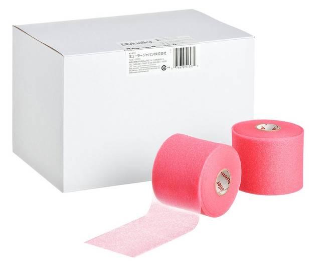 Amazon | Mueller(ミューラー) Mラップ カラー ビッグピンク Mwrap Colored Big Pink 70mm [12個入り] アンダーラップ スモールパック 23714 ピンク 70mm | ミューラー(Mueller) | スポーツ&アウトドア (80930)
