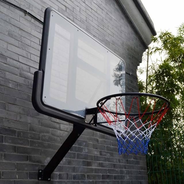 Amazon | WENZHE バスケットゴール ポータブル バスケットボール用ゴール バスケットボード バスケットボール スタンド 壁掛け式 アダルト 屋外の モーション 標準 バスケット 直径45cm | WENZHE-バスケットボール | ゴール (81586)