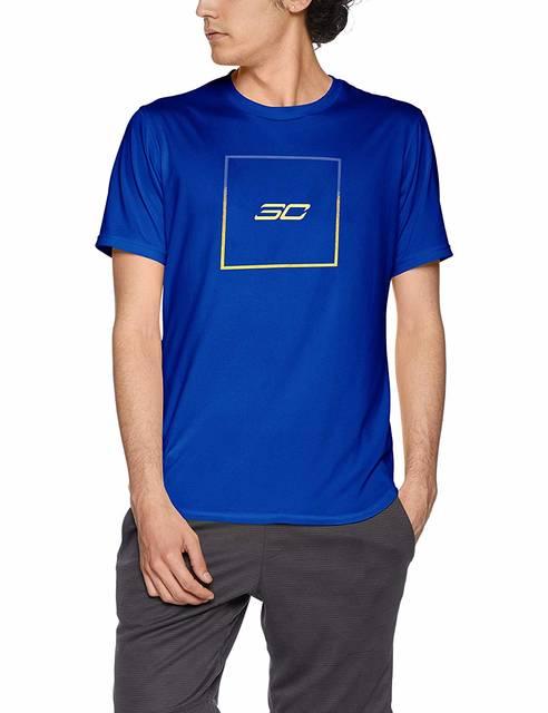 Amazon | [アンダーアーマー] SC30テックボックスロゴTシャツ(バスケットボール/Tシャツ) 1331553 メンズ RYL 日本 MD (日本サイズM相当) | パンツ 通販 (83382)