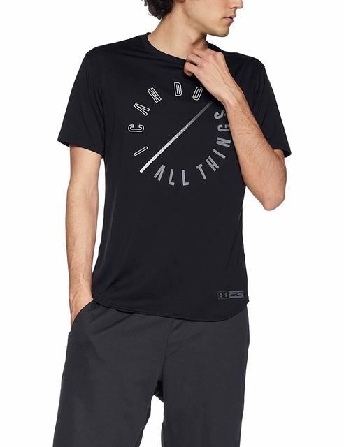 Amazon | [アンダーアーマー] テック SC30 〈I CAN DO ALL THINGS〉 Tシャツ(バスケットボール/Tシャツ) 1331557 メンズ BLK 日本 MD (日本サイズM相当) | シャツ 通販 (83387)