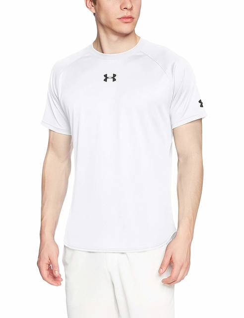Amazon | [アンダーアーマー] ロングショット Tシャツ(バスケットボール/Tシャツ) 1316918 メンズ WHT 日本 XXL (日本サイズ3L相当) | シャツ 通販 (83391)