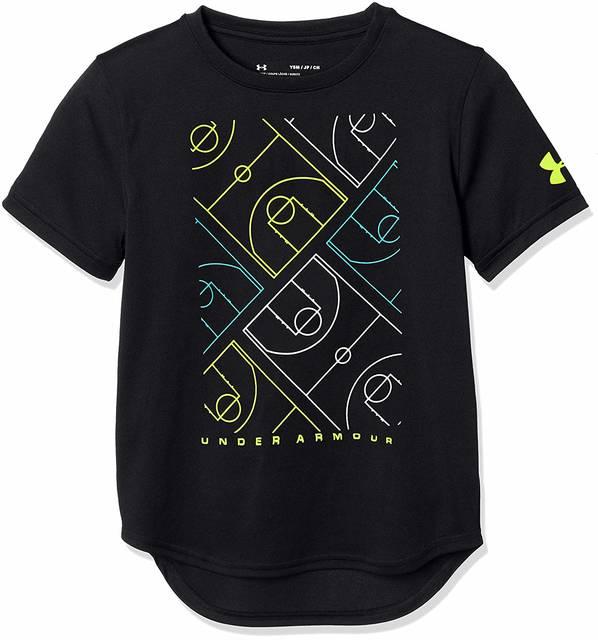 Amazon | [アンダーアーマー] テックTシャツ<Basketball Court>(バスケットボール/Tシャツ) 1331565 ボーイズ | ボーイズ 通販 (83395)