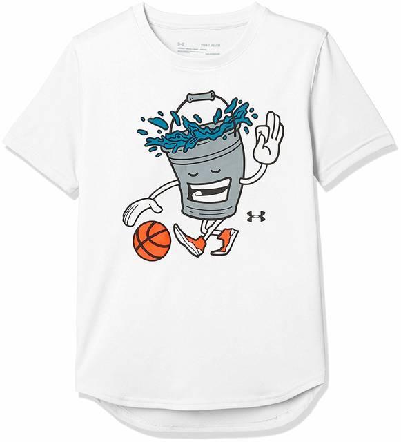 Amazon | [アンダーアーマー] テックTシャツ<Bucket Ball>(バスケットボール/Tシャツ) 1331566 ボーイズ | ボーイズ 通販 (83404)