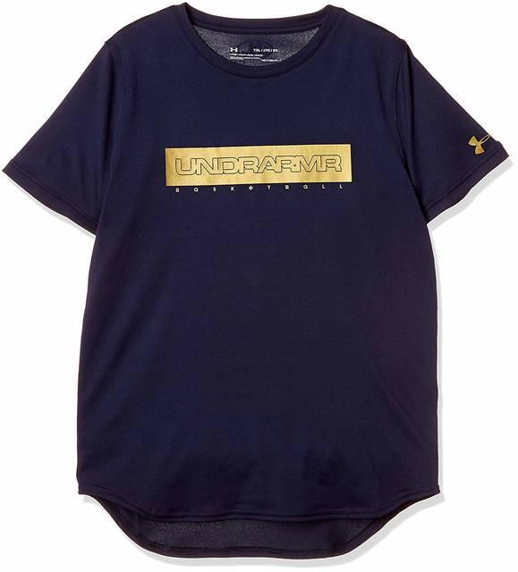 Amazon | [アンダーアーマー] バスケットボール/Tシャツ テックショートスリーブ<グラフィック> 1319674 ボーイズ MDN 日本 YMD (日本サイズ140 相当) | ボーイズ 通販 (83406)