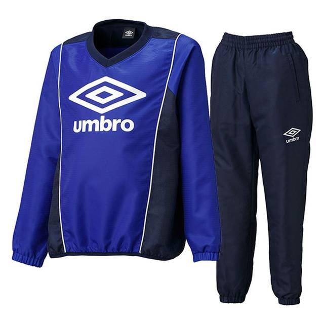Amazon | アンブロ(UMBRO) ジュニア ウインドアップピステ 上下セット(ブルー/ネイビー) UBA4540J-BNV-UBA4540JP-NVY 150 | サッカー・フットサル ボーイズ 通販 (84231)