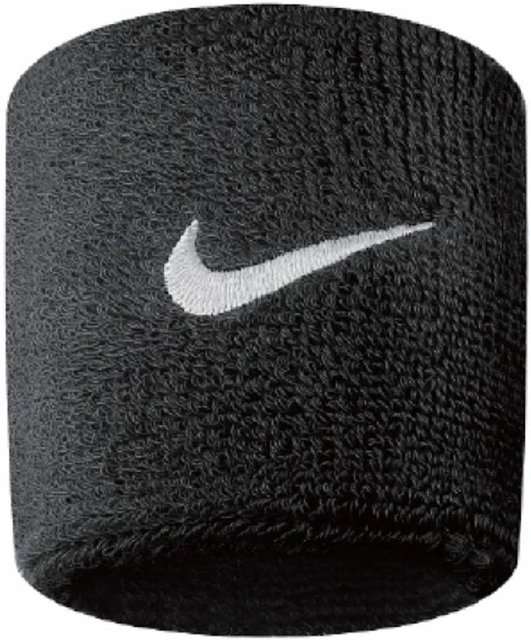 Amazon | NIKE(ナイキ) スウッシュ リストバンド ブラック N.NN.04.010.OS | ナイキ(Nike) | リストバンド (85294)