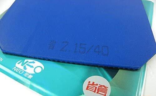 Amazon | 紅双喜(DHS) 省狂NEO3(省チーム用キョウヒョウネオ3)ブルースポンジ 已打底版 本物保証 説明書付き (Hurricane NEO3 blue sponge for provincial team, factory-tuned) (黒2.15mm・硬度39) [並行輸入品] | 紅双喜(DHS) | ラバー (152302)