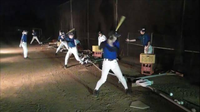 """市川ポニーIG on Instagram: """"2017.1.31夜間練習。ティー。 #ティーバッティング #中学硬式野球 #野球"""" (25680)"""